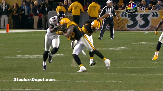 Ryan Clark hit on Ed Dickson