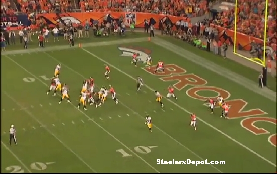 Steelers Broncos Heath Miller TD 3
