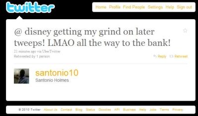Santonio Holmes Twitter 1