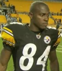 Steelers rookie wide receiver Antonio Brown