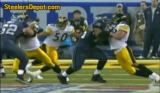 Sean Locklear holding Super Bowl XL 1