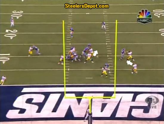 Ahmad Bradshaw TD Run Steelers 4