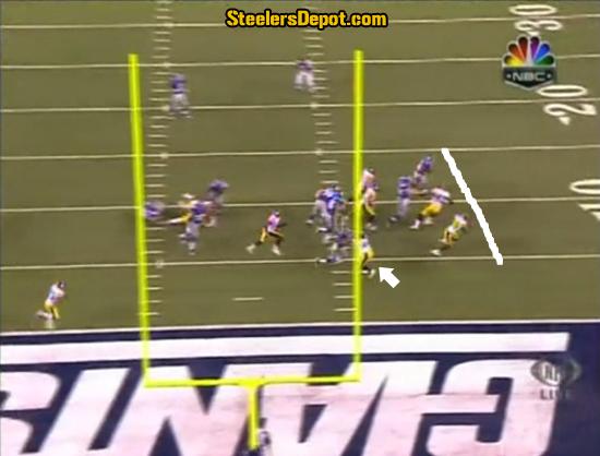 Ahmad Bradshaw TD Run Steelers 6