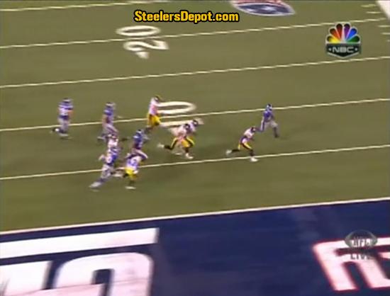 Ahmad Bradshaw TD Run Steelers 8