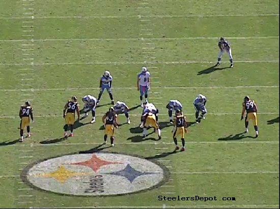 Steelers Woodley Hood Sack Titans
