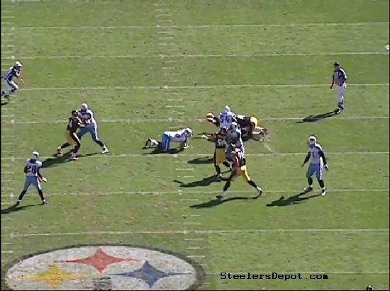 Woodley and Hood split the sack.
