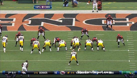 Rashard Mendenhall touchdown versus Bengals 1