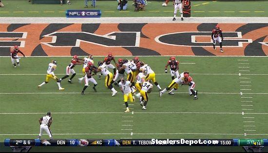 Rashard Mendenhall touchdown versus Bengals 3