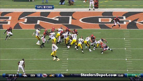 Rashard Mendenhall touchdown versus Bengals 4