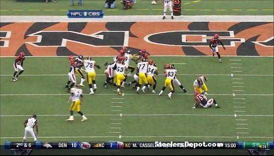 Rashard Mendenhall touchdown versus Bengals 5
