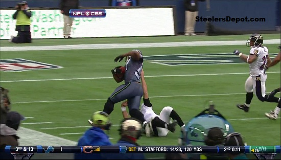 Joe Flacco Horse Collar Tackle 3