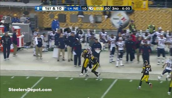 Ryan Clark late hit versus Patriots