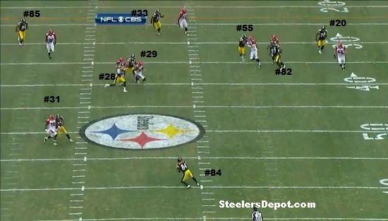 Antonio Brown punt return touchdown Bengals week 13 #1