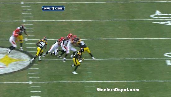 Antonio Brown punt return touchdown Bengals week 13 #10