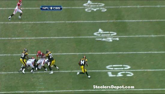 Antonio Brown punt return touchdown Bengals week 13 #11