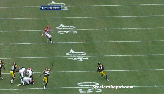 Antonio Brown punt return touchdown Bengals week 13 #12