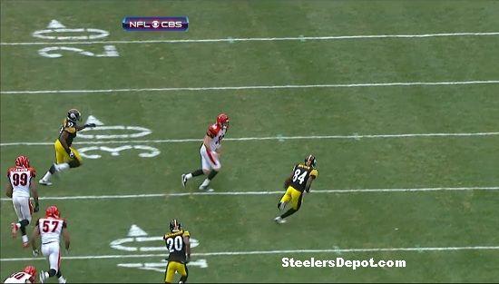 Antonio Brown punt return touchdown Bengals week 13 #13