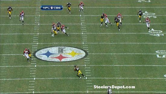 Antonio Brown punt return touchdown Bengals week 13 #2