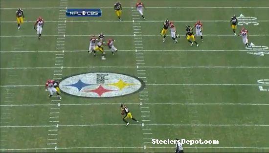 Antonio Brown punt return touchdown Bengals week 13 #3