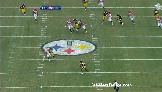 Antonio Brown punt return touchdown Bengals week 13 #4