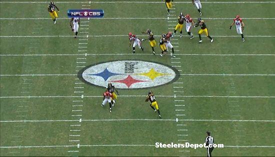 Antonio Brown punt return touchdown Bengals week 13 #5