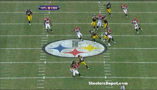 Antonio Brown punt return touchdown Bengals week 13 #6