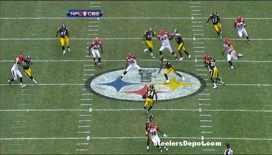 Antonio Brown punt return touchdown Bengals week 13 #7