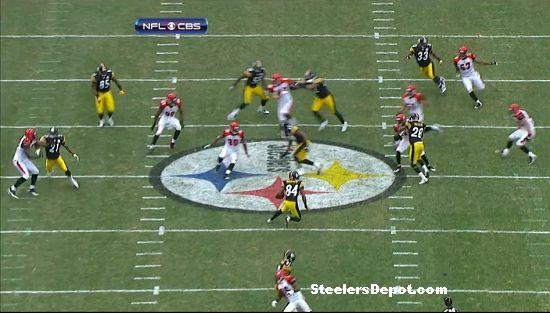 Antonio Brown punt return touchdown Bengals week 13 #8