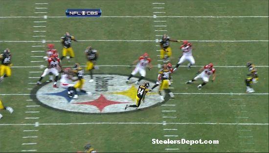 Antonio Brown punt return touchdown Bengals week 13 #9