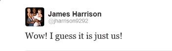 James Harrison Tweet Twitter