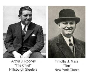Art J. Rooney and Timothy J. Mara