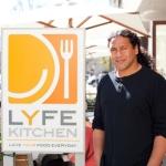 Troy Polamalu Lyfe Kitchen