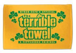 Green Shamrock Terrible Towel