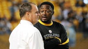 Kevin Colbert, Mike Tomlin Steelers by George Gojkovich, Getty Images
