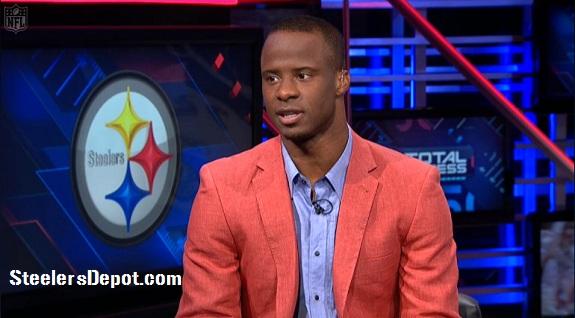 Ike Taylor orange salmon jacket NFL Total Access