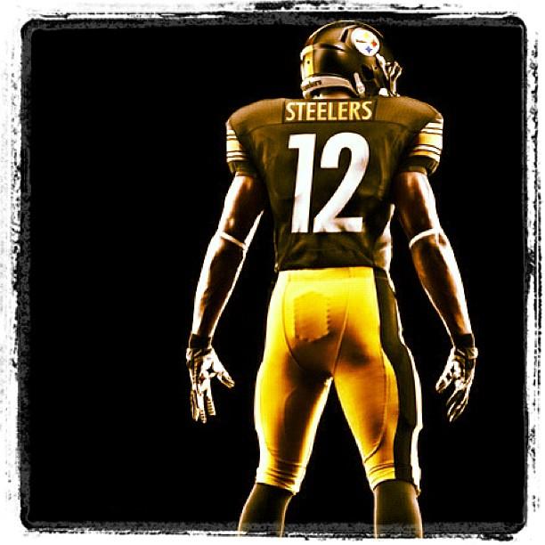 Steelers Nike Uniform Back 2012