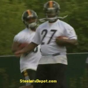 Jonathan Dwyer 2012 Steelers OTA