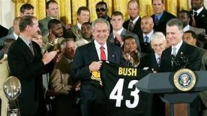 Steelers White House George Bush