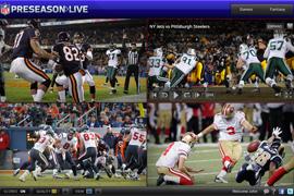 NFL Preseason Live Package