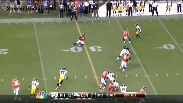 Thomas TD Denver Versus Steelers 4