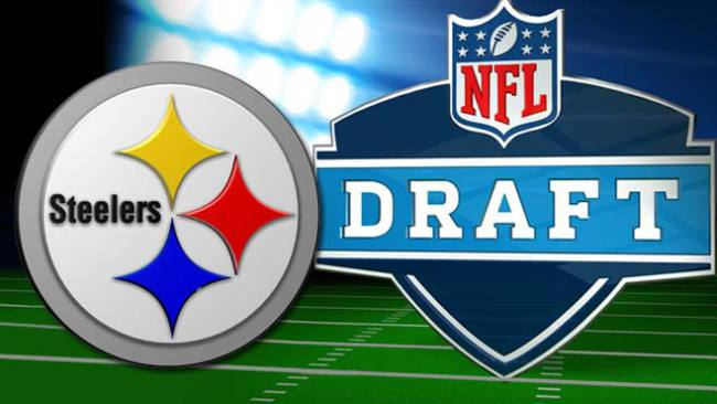 Steelers NFL Draft logos
