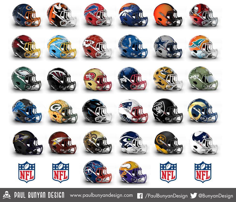 Paul_Bunyan_Design_NFL_Helmets