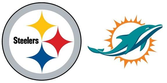 Steelers versus Dolphins