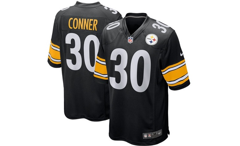 james conner pittsburgh steelers jersey