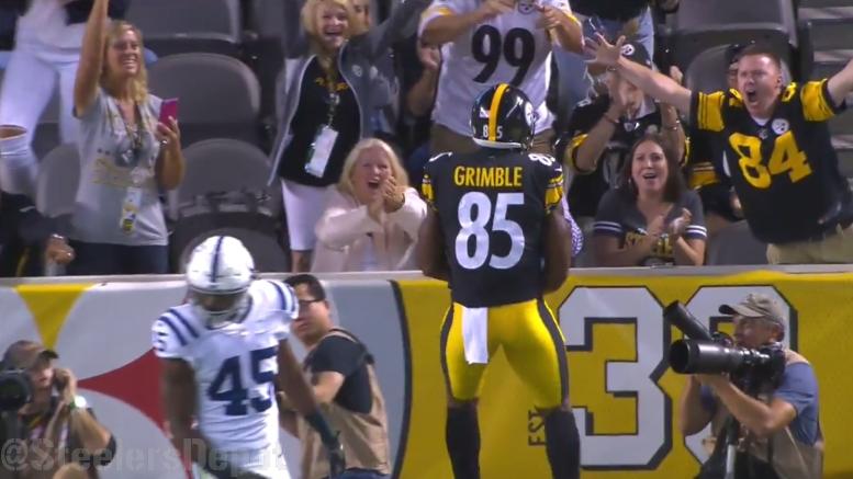 Xavier Grimble NFL Jersey