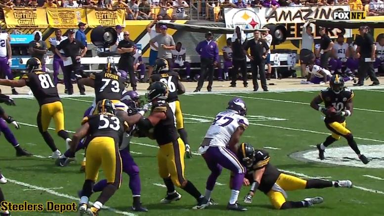 Steelers blocks in box