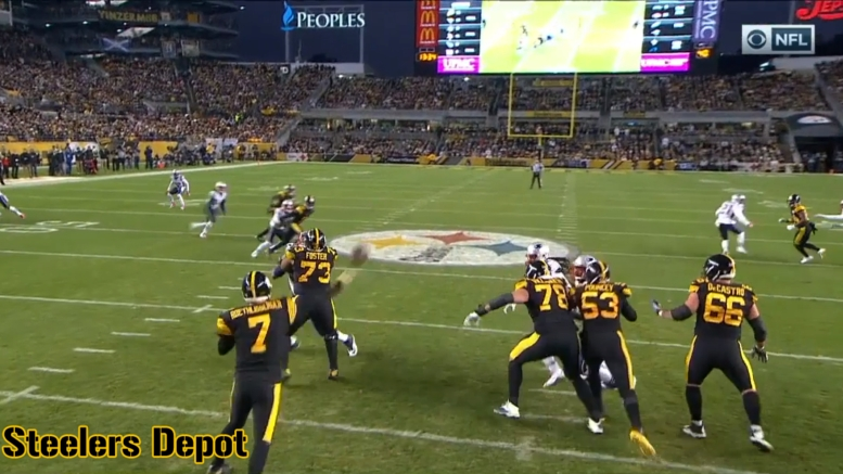9f193cd8bd2 There are several throws from the 2018 season that I m sure Pittsburgh  Steelers quarterback Ben Roethlisberger would love to have back