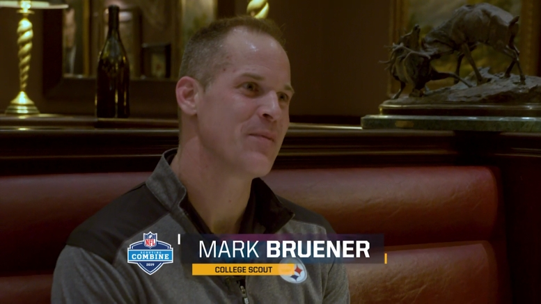 Steelers Scout Mark Bruener Reflects On How Combine Has ...Steelers Scout