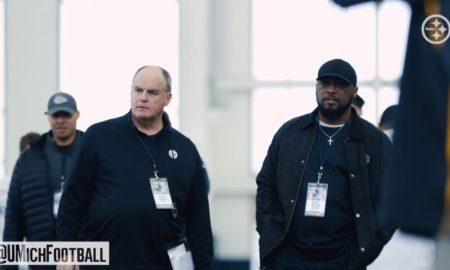 Steelers GM Kevin Colbert, HC Mike Tomlin