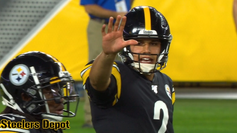 Buy Or Sell Mason Rudolph Capable Of Delivering Winning Football Steelers Depot